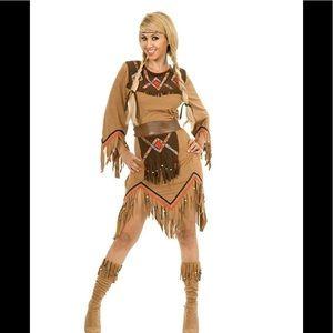 Charades Sacajawea Indian Maiden Costume Set